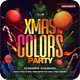 Free Download Christmas Color Party Flyer Nulled