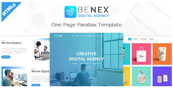 Benex - One Page Parallax Template