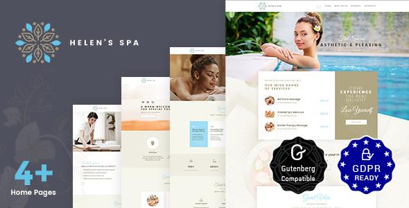 Helen's Spa - Beauty Spa, Health Spa & Wellness Theme - Health & Beauty Retail