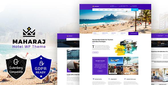 Maharaj Tour- Hotel, Tour, Holiday Theme - Travel Retail