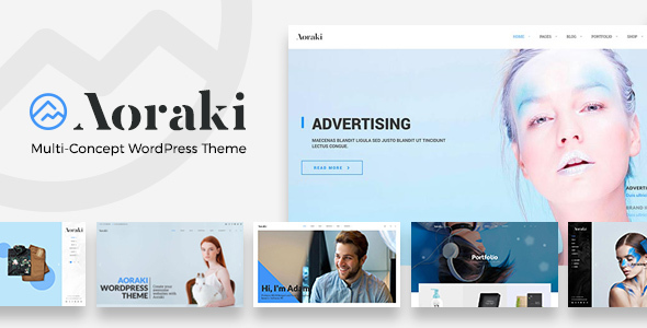 Aoraki - Multi-Concept Business WordPress Theme - Business Corporate