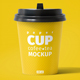 Free Download Paper Cup 200ml Mockup Nulled