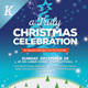 Christmas Event Flyer Template vol.01 - GraphicRiver Item for Sale