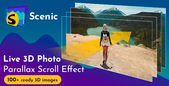 Scenic 3D Photo Parallax v1.2 - CodeCanyon Item for Sale
