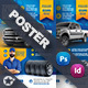 Auto Tires Poster Templates - GraphicRiver Item for Sale