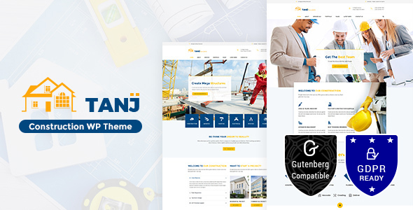 Download Tanj Construction – Architecture, Construction Theme nulled tanj