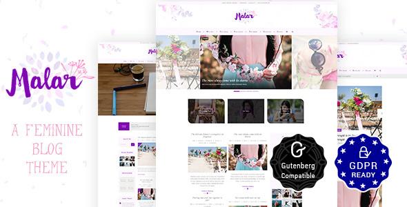 Malar Blog   Feminine Blog - Blog / Magazine WordPress