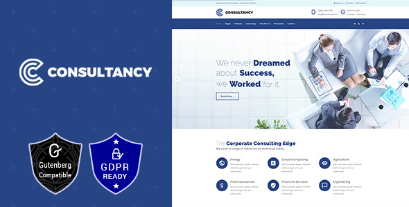 Consultancy | Business Consulting, Finance ConsultingTheme