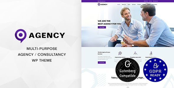 Agency | Creative Business Agency Theme - Corporate WordPress