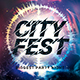 Free Download City Fest Party Flyer Nulled