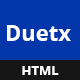 Duetx - Creative & Multipurpose HTML Template - ThemeForest Item for Sale
