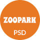Free Download ZooPark - Zoo & Safari Park Website PSD Template Nulled