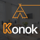 Free Download Konok - Architecture & Interior PSD Template Nulled