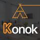Konok - Architecture & Interior PSD Template - ThemeForest Item for Sale