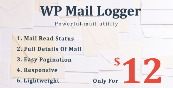 WP Mail Logger - Ultimate Mail Logging And Tracking Tools