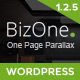 BizOne - One Page WordPress - ThemeForest Item for Sale