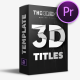 Free Download 3D TITLES PACK | MOGRT Nulled