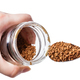 glass jar with freeze-dried coffee and spoon - PhotoDune Item for Sale