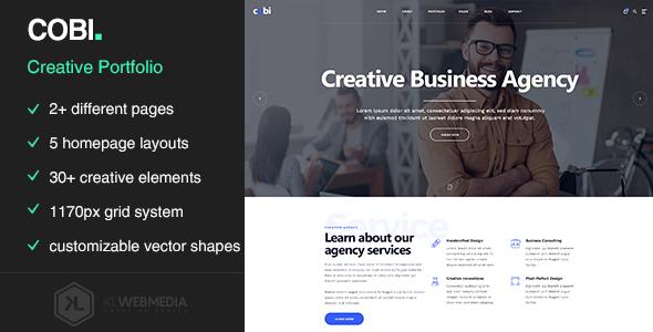 Super Cobi - Creative Portfolio HTML5 Template