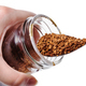 glass jar with instant coffee and spoon isolated - PhotoDune Item for Sale