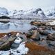Fjord in winter, Norway - PhotoDune Item for Sale