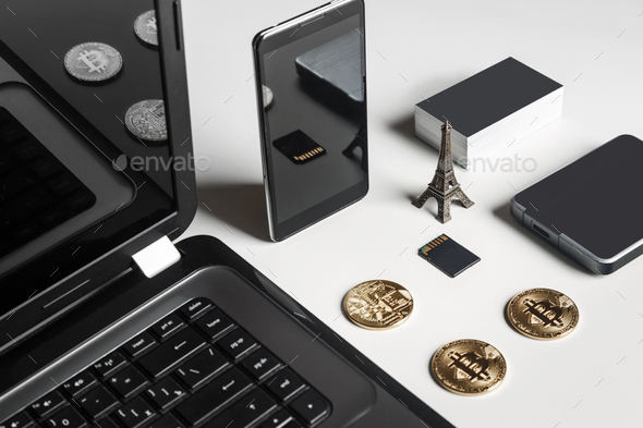 Stylish men's set concept with different accessories - Stock Photo - Images