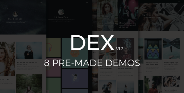 Dex - Modern Blog/Portfolio Blogger Theme