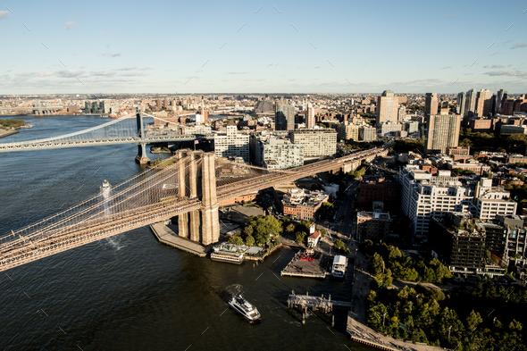 Brooklyn Bridge - Stock Photo - Images