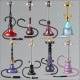 Hookah Vector Tobacco Hooka Smoke Pipe Arabic - GraphicRiver Item for Sale