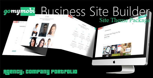 gomymobiBSB's Site Theme: Agency - Company Portfolio            Nulled