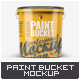 Free Download Plastic Paint Bucket Mock-Up Nulled