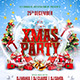Xmas Party Flyer Template vol.2 - GraphicRiver Item for Sale