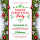 Merry Christmas Party Flyer Template 2 - GraphicRiver Item for Sale