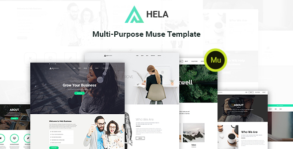 Hela - Multi-Purpose Muse Template