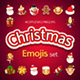 Christmas Emojis Set - GraphicRiver Item for Sale