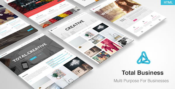 Total Business - Multi-Purpose Business HTML Template - Corporate Site Templates