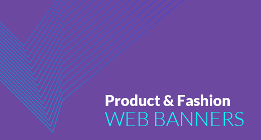 Product & Fashion Web Banners