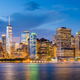 Lower Manhattan Skyline from New York Bay - PhotoDune Item for Sale