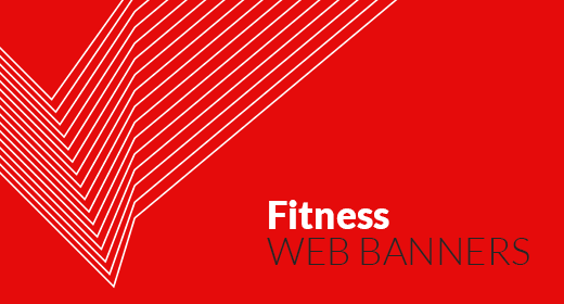Fitness Web Banners