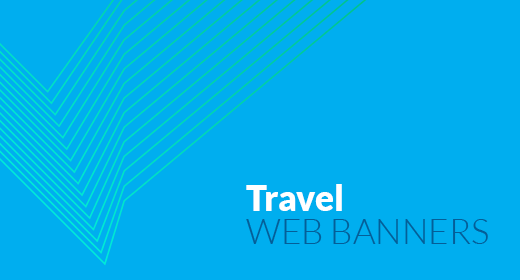 Travel & Vacation Web Banners