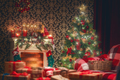 room decorated for Christmas - PhotoDune Item for Sale