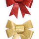 golden and red bows - PhotoDune Item for Sale