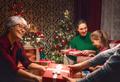 family celebrating Christmas - PhotoDune Item for Sale