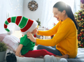 family preparing for Christmas - PhotoDune Item for Sale