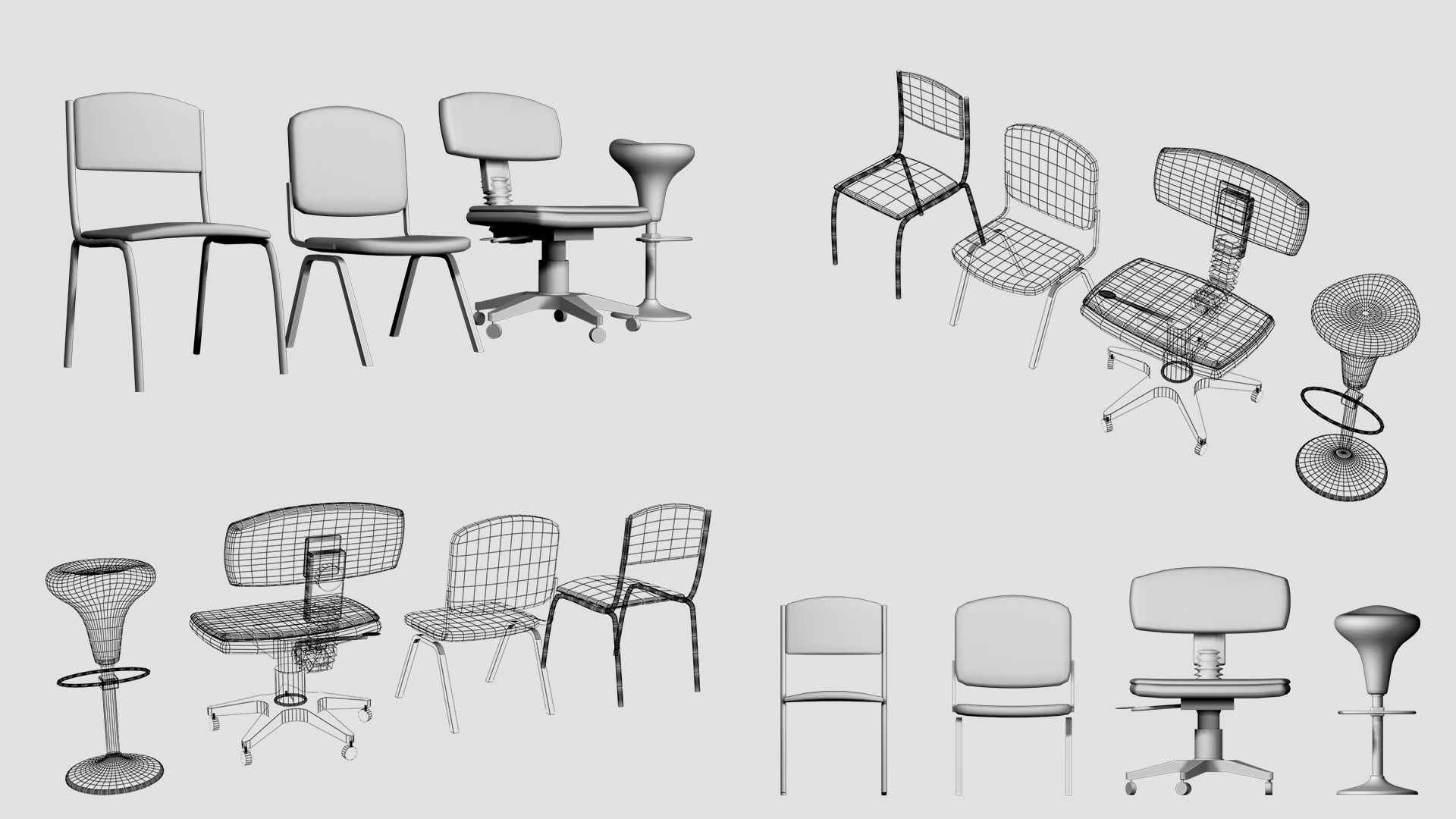 Business Chair Set