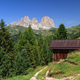 Dolomiti - Sassolungo mount from Fassa Valley, Italy - PhotoDune Item for Sale