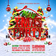 Merry Xmas Party Flyer Template Vol.2 - GraphicRiver Item for Sale
