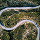 Winding road aerial view - PhotoDune Item for Sale