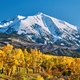 Mount Sopris autumn landscape in Colorado - PhotoDune Item for Sale