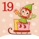 Vector Christmas Advent Calendar - GraphicRiver Item for Sale